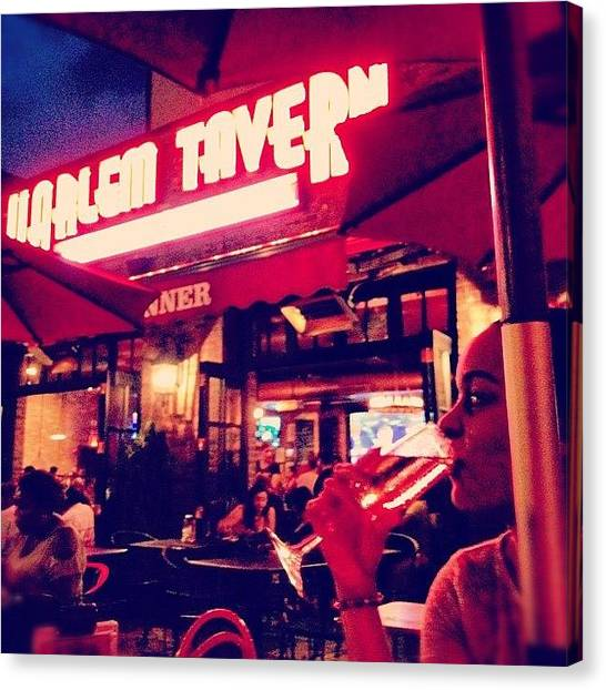 Harlem Canvas Print - #wife #harlem #night #life #me #free by Bianca Q