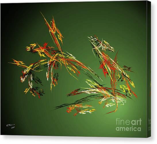 Wild Flowers Canvas Print by Arne Hansen