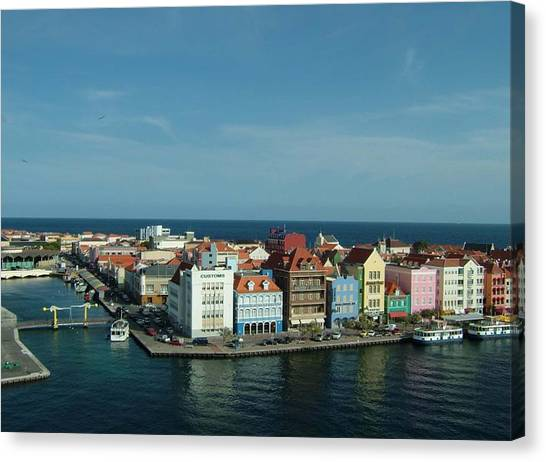 Willemstad Curacao Canvas Print