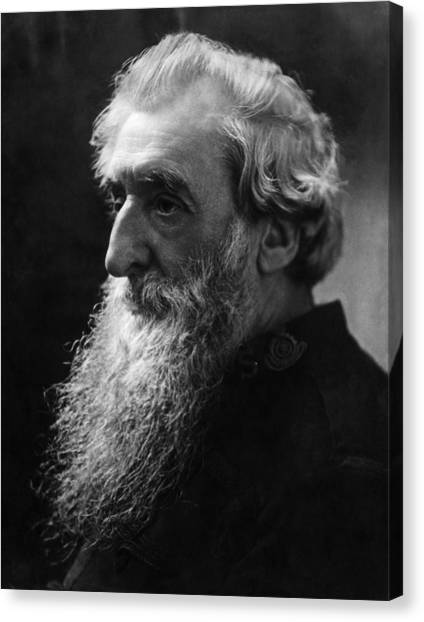 Salvation Army Canvas Print - William Booth 1829-1912, British by Everett