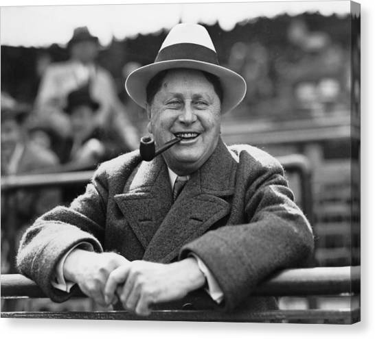 Wrigley Field Canvas Print - William Wrigley, 1861-1932, President by Everett