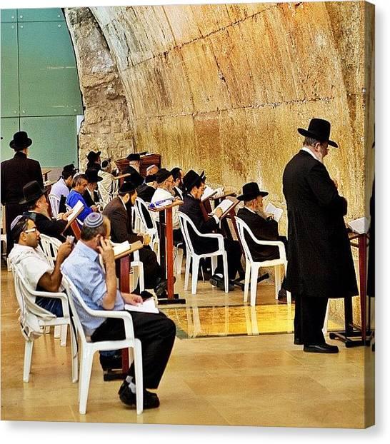 Travel Canvas Print - Wilson's Arch  Torah Ark Inside by Tommy Tjahjono