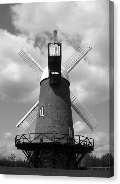 Wilton Windmill Canvas Print