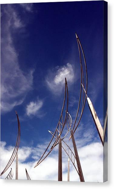 Wind Bows Canvas Print by Robert  Stephenson