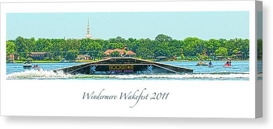Windermere Wakefest Canvas Print