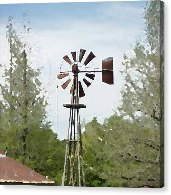 Igers Canvas Print - Windmill II, You Can Sell Your by James Granberry