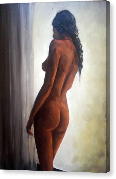 Window Light Canvas Print