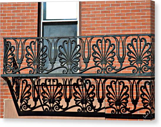 Window Scrolls Canvas Print by Bruce Carpenter
