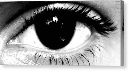 Window To My Soul Canvas Print by Jason Michael Roust