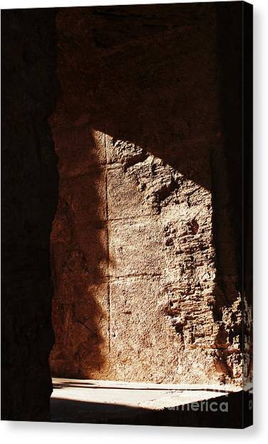 Window To The Shadows Canvas Print