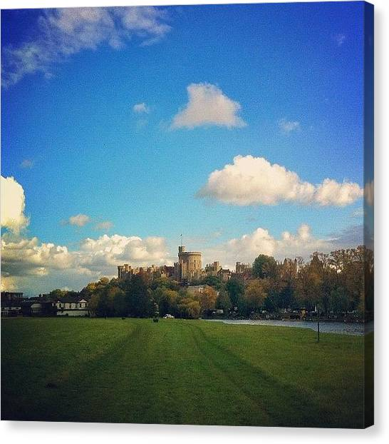Instamood Canvas Print - Windsor by Samuel Gunnell