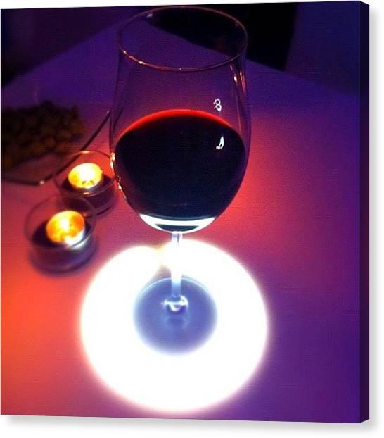 Presents Canvas Print - Wine Glow by Book Walk
