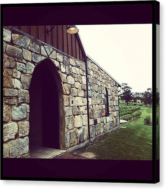 Winery Canvas Print - #winery #vineyard #building by Glen Offereins