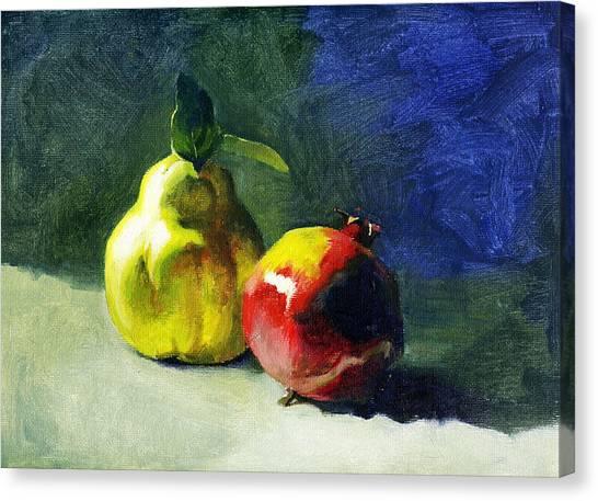 Winter Fruits Canvas Print by Tatyana Holodnova