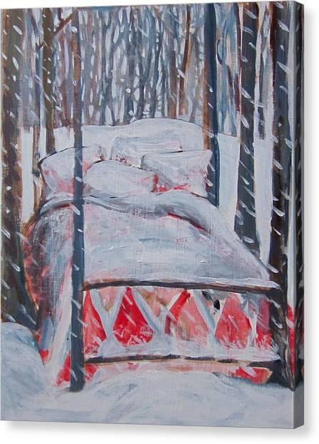 Winter Hybernation Canvas Print
