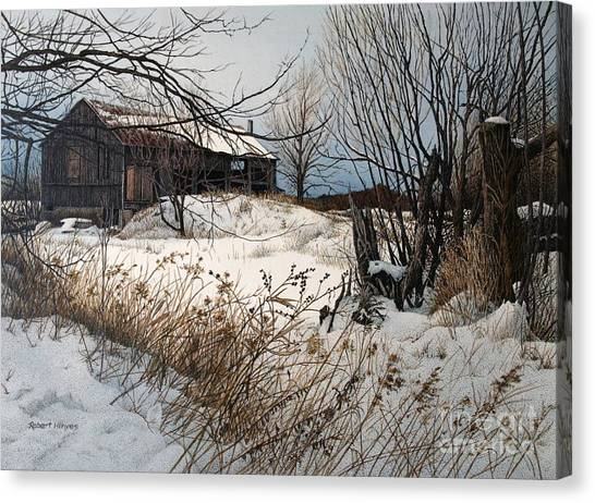 Winter In Prince Edward County Canvas Print