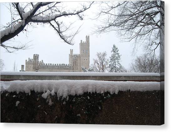 Illinois State University Canvas Print - Winter Magic by Abraham Adams Photography