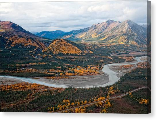 Wiseman Alaska Canvas Print