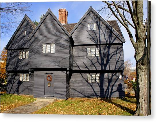 Witch House Canvas Print