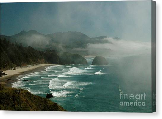 Within The Fog Canvas Print