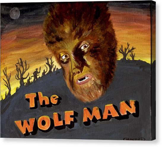 Wolf Bane Baby Canvas Print