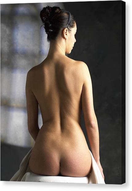 Woman's Back Canvas Print by Tony Mcconnell