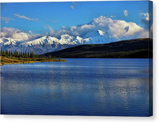 Denali Canvas Print - Wonder Lake by Rick Berk