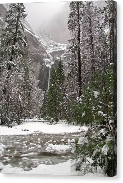 Yosemite Falls Canvas Print - Wonderland Yosemite by Heidi Smith