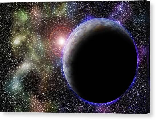 Wonders Of Space Canvas Print by Barry Jones