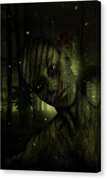 Wood You Canvas Print