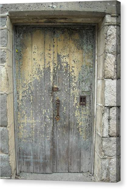 Wooden Doors Canvas Print