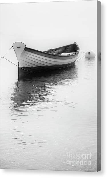 Wooden Row Canvas Print