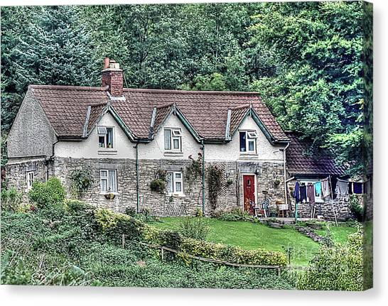 Woodkeepers Cottage Canvas Print