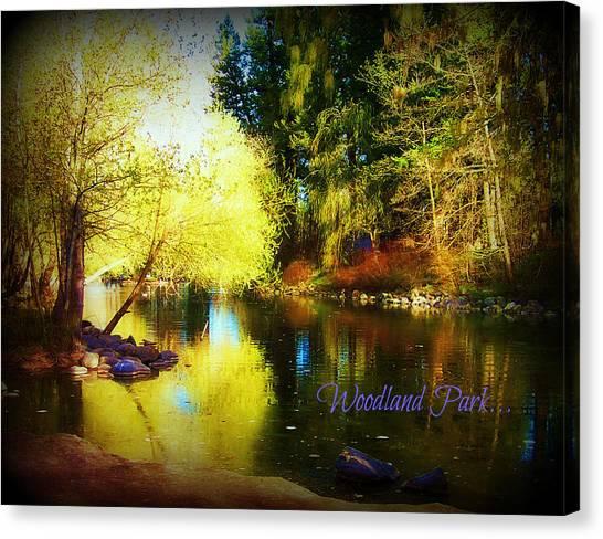 Woodland Park Canvas Print