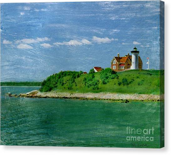 Woods Hole Lighthouse Canvas Print