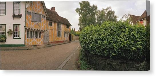 Wool Merchant House Lavenham Canvas Print by Jan W Faul