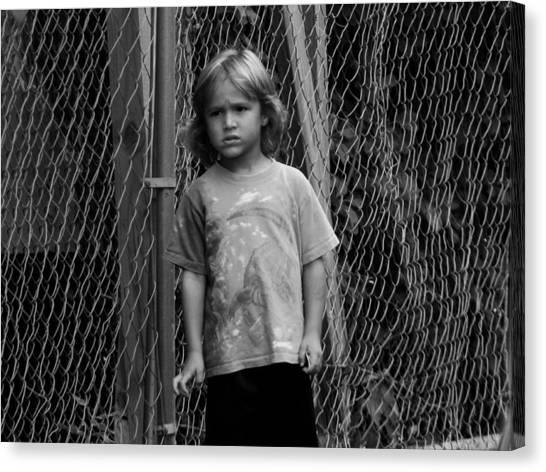 Worried Innocence Canvas Print by Jonathan Baca
