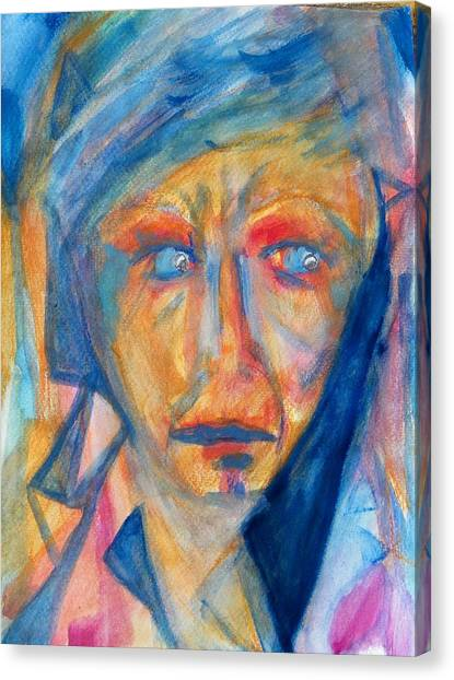 Worry - Weep - Scream Canvas Print