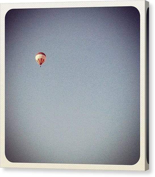 Balloons Canvas Print - Would Love To See A Pic From Their Pov by Rob Beasley