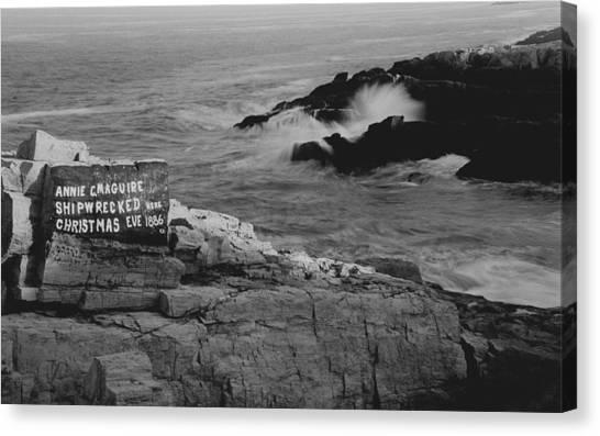 Wreck Site Canvas Print
