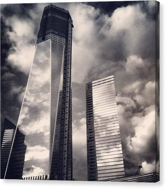 Skyscrapers Canvas Print - Wtc - New York by Joel Lopez