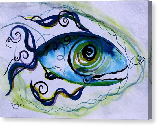 Wtfish 009 Canvas Print