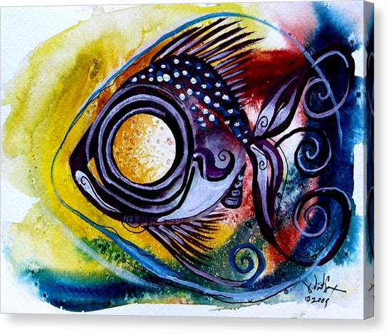 Wtfish 3816 Canvas Print