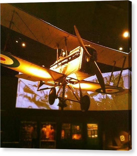 Biplane Canvas Print - Ww1 Biplane by Brent McGilvary