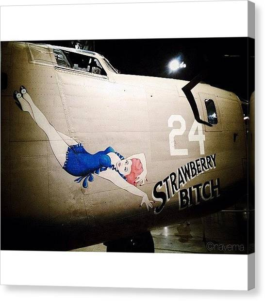 Ohio Canvas Print - Ww2 Consolidated B-24d Liberator by Natasha Marco