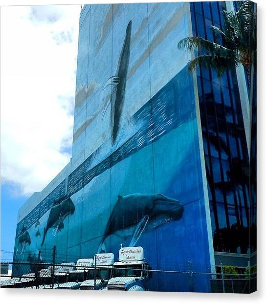 Whales Canvas Print - #wyland #wylandwall #wylandoceanart by Ansley Porrazza