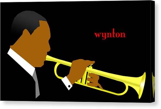 Canvas Print - Wynton Marsalis by Victor Bailey