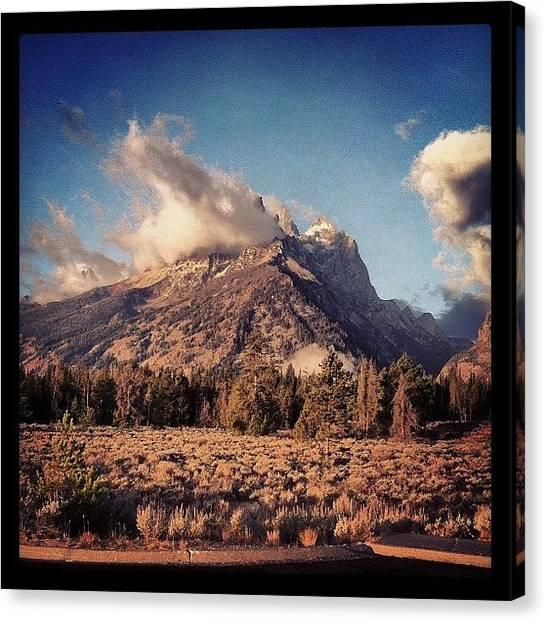Tetons Canvas Print - #wyoming #photo #teton #primeshots by Cesar D Romero