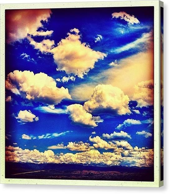 Wyoming Canvas Print - Wyoming Skies by Lisa King