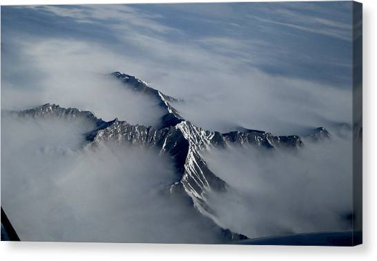 X Marks The Spot Canvas Print by Mark Caldwell